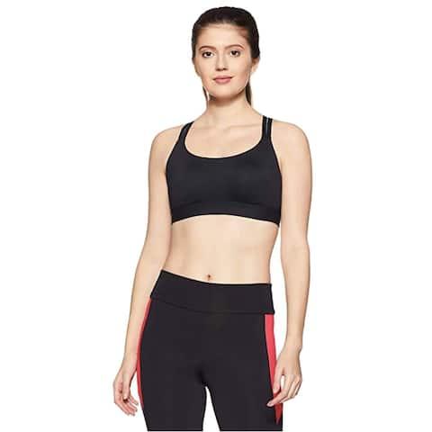 Under Armour Womens Eclipse Low Impact Sports Bra, Black (XS) - XS