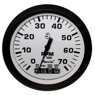 Faria Beede Faria Euro White 4 Tachometer W Systemcheck Gas Johnson 32950