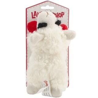 Multipet INTERNATIONAL 843140 Lambchop Plush Squeak Toy Mini for Pets, 6-Inch