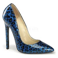 Devious Women's Sexy-20 Blue Pearlized Patent