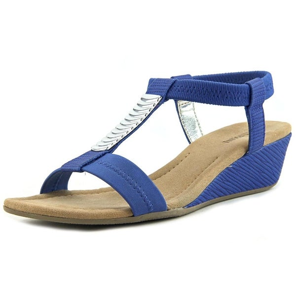 Alfani Safaree Women Vacay Blue Sandals