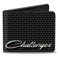 Challenger Script Grille Bi Fold Wallet - One Size Fits most