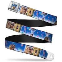 Flying House W Balloons Full Color Up Carl On Porch Flying House Balloons Seatbelt Belt