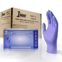 1st Choice Safety Light Indigo Nitrile Disposable Gloves (Case of 1000)