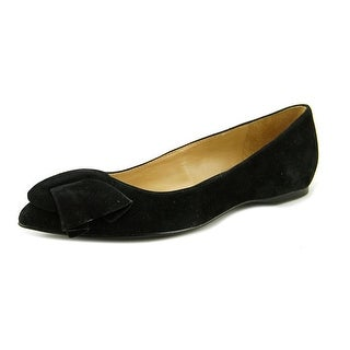 Naturalizer Sarah Women W Pointed Toe Suede Black Flats