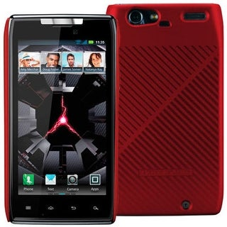 Body Glove Fade Snap-On Case for Motorola Droid RAZR XT910 (Red/Black Striped)