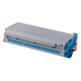 Oki Original Toner Cartridge - LED - 10000 Pages - Cyan - 1 Each