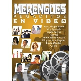 Merengues Pegaditos En Video - DVD