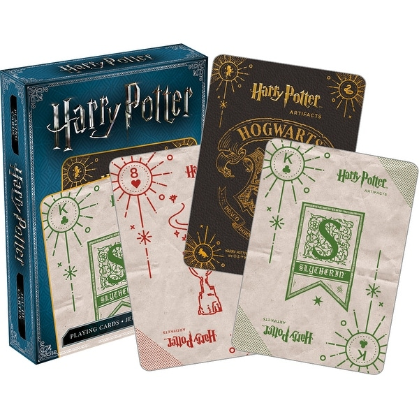 Harry Potter Artifacts Playing Cards - Multi. Opens flyout.