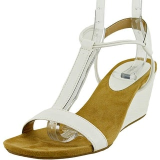 Style & Co Mulan Open Toe Synthetic Wedge Sandal