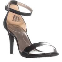Bandolino Jeepa Ankle Strap Stiletto Sandals, Black