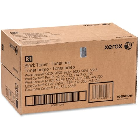 Xerox 006r01046 toner (2 per box+waste bottle) for workcentre 5030/5050