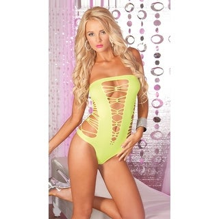 Juice Box Seamless Teddy, Thong Teddy - One Size Fits most