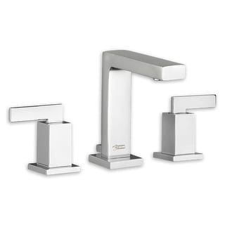 American Standard 7184.851 Times Square Widespread Bathroom Faucet with Speed Connect Metal Pop-Up Drain Assembly