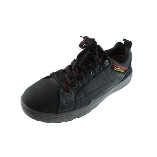 Caterpillar Mens Brode Steel Toe Shoes Leather Electrical Hazard - 9.5 medium (d)