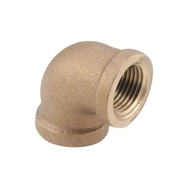"AMC 3/8"" 90D Brass Elbow"