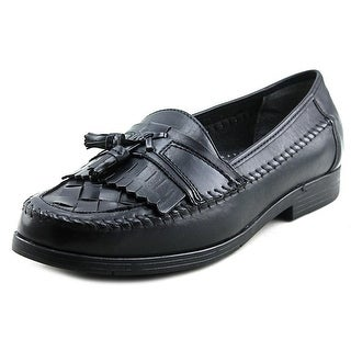 Soft Stags Randy Men  Round Toe Leather Black Loafer