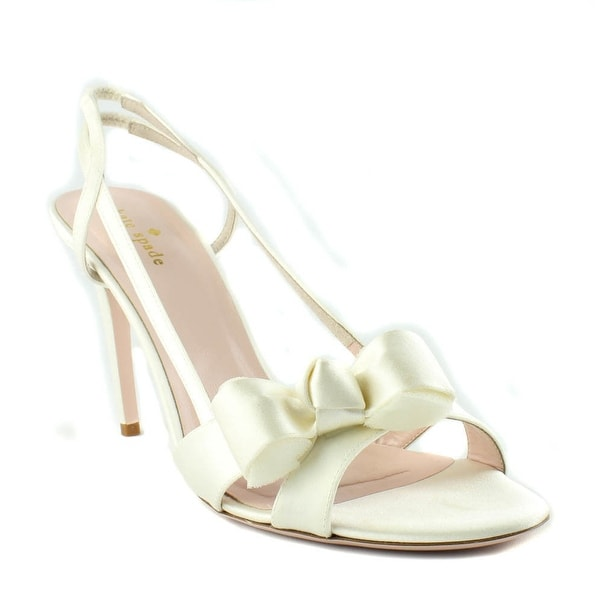 Kate Spade NEW Ivory Ideal Shoes Size 11M Slingbacks Sandals