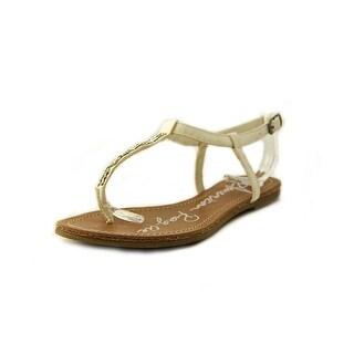 American Rag Maddi Women Open Toe Leather Thong Sandal