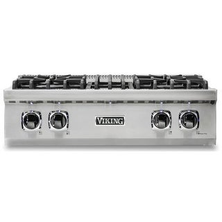 Viking VRT5304B 30 Inch Wide Built-In Gas Cooktop with 4 Pro Sealed Burners