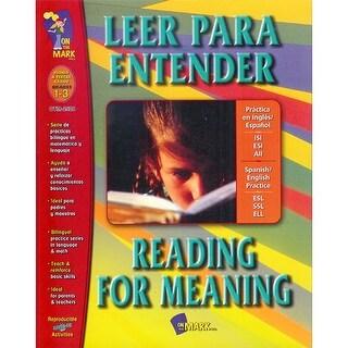 Leer Para Entender Reading For Meaning