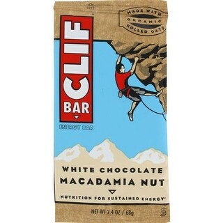 Clif Bar - White Chocolate Macadamia Nut Clif Bar ( 12 - 2.4 OZ)