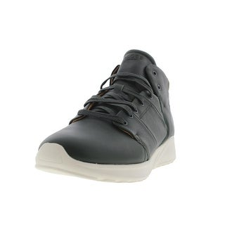 Globe Mens Los Angered Lyte Leather High-Top Fashion Sneakers - 11 medium (d)
