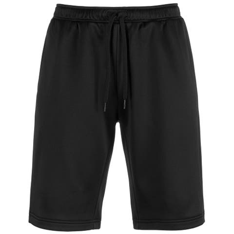 Ideology Men's Sweatshorts Deep Black Size Large L Solid Casual Pull-On