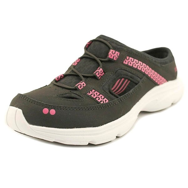 Ryka Tisza Black/Pink Flats