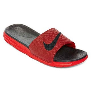 Nike Mens BENASSI SOLARSOFT, UNIVERSITY RED/BLACK
