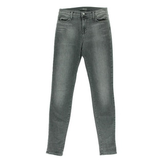 J Brand Womens Maria High-Rise Denim Skinny Jeans