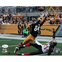 Antonio Brown Autographed Pittsburgh Steelers 8x10 Photo JSA