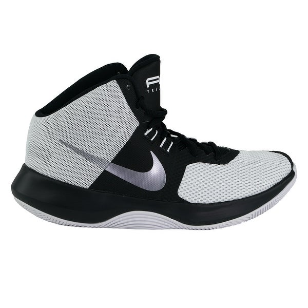 Shop Nike Men's Air Precision Basketball Shoes white