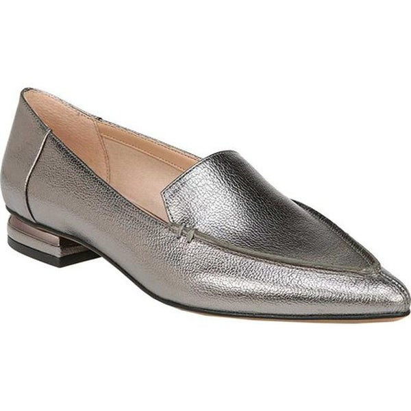91ed6024fbd Shop Franco Sarto Women s Starland Loafer Pewter Idra Synthetic ...