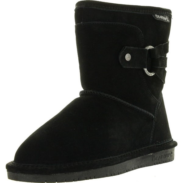 Bearpaw Womens Clove Shearling Winter Fashion Boots