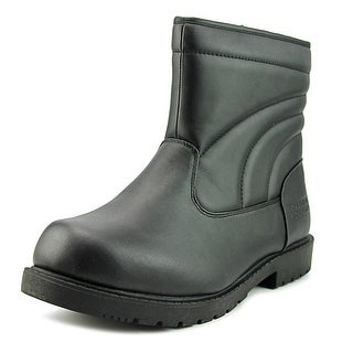 Boston Accent Logan   Round Toe Leather  Snow Boot