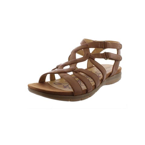 0cfd0b9a6275 Baretraps Womens Kaylyn Gladiator Sandals Faux Leather