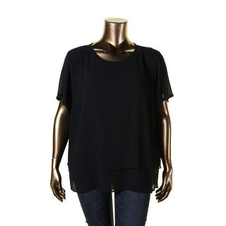 Stanzino Women 39 S Plus Mock Layered Top Free Shipping On Orders Over 45 15652704