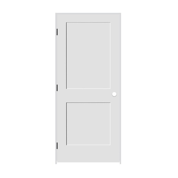 "Trimlite 2268138-8402RH154916 26/"" by 80/"" Shaker 2-Panel Right Handed Interior Pr"