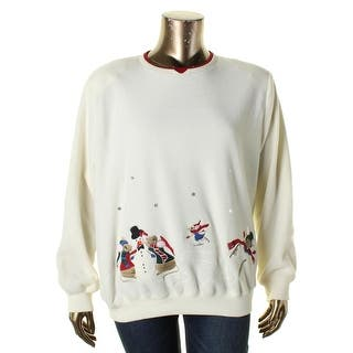 Alfred Dunner Womens Plus Crewneck Sweater Embroidered Long Sleeves - 2x|https://ak1.ostkcdn.com/images/products/is/images/direct/fb6ea10d4af8029d12cebffecb4b7f79c0f541cc/Alfred-Dunner-Womens-Plus-Crewneck-Sweater-Embroidered-Long-Sleeves.jpg?impolicy=medium