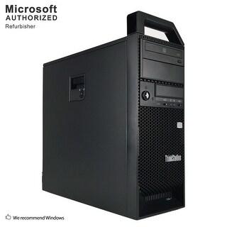 Lenovo S30 TW, XEON E5-1603 2.8G, 16GB DDR3, 512GB SSD+3TB HDD, 2GB VC, DVD, WIFI, BT 4.0, W10P64 (EN/ES)-Refurbished