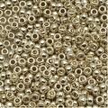 Toho Round Seed Beads 8/0 PF558 'Galvanized Aluminum' 8g - Thumbnail 0
