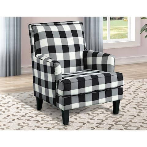 Best Master Furniture Upholstered Living Room Arm Chair
