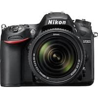 Nikon D7200 DX-Format DSLR Camera with 18-140mm VR Lens (Black)
