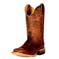 Cinch Western Boots Mens Edge Mad Dog Cowboy Tan Brown