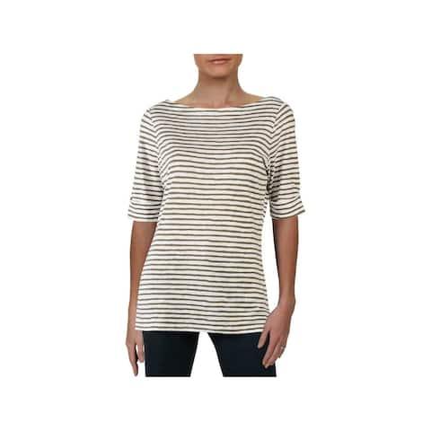RALPH LAUREN Green Short Sleeve T-Shirt Top XL