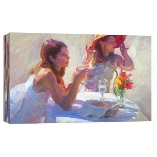"""PTM Images 9-101725  PTM Canvas Collection 8"""" x 10"""" - """"Sisters"""" Giclee Women Art Print on Canvas"""