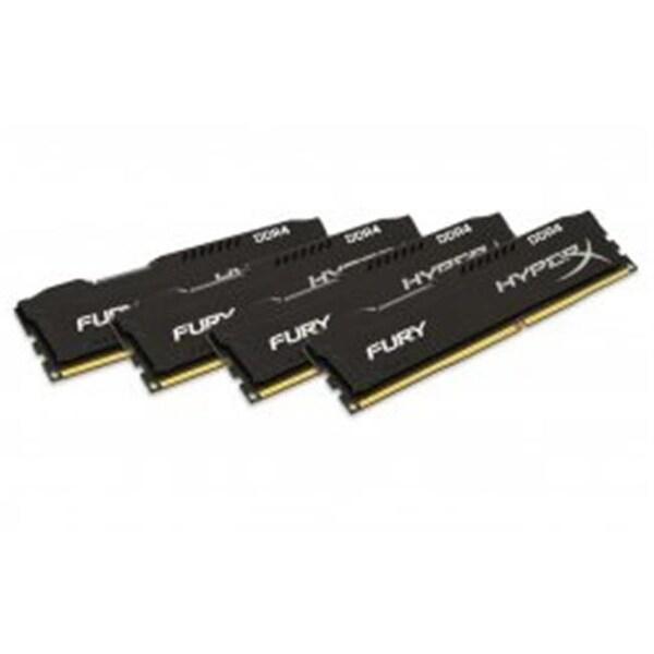 Kingston HX421C14FB2K4-32 32GB 2133MHz Hyperx Fury Kit of 4 - Black