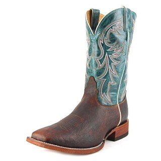 Nocona MD2749 Men Square Toe Leather Green Western Boot