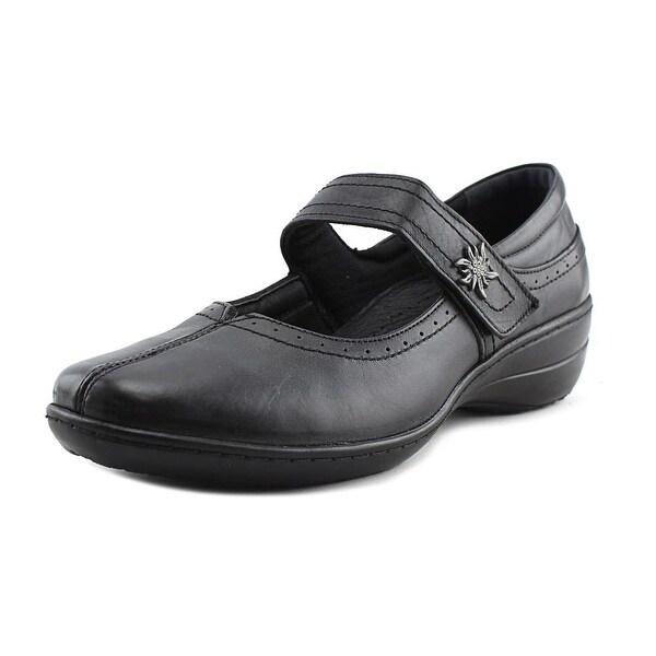 Spring Step Amparo-B Women Round Toe Leather Black Mary Janes